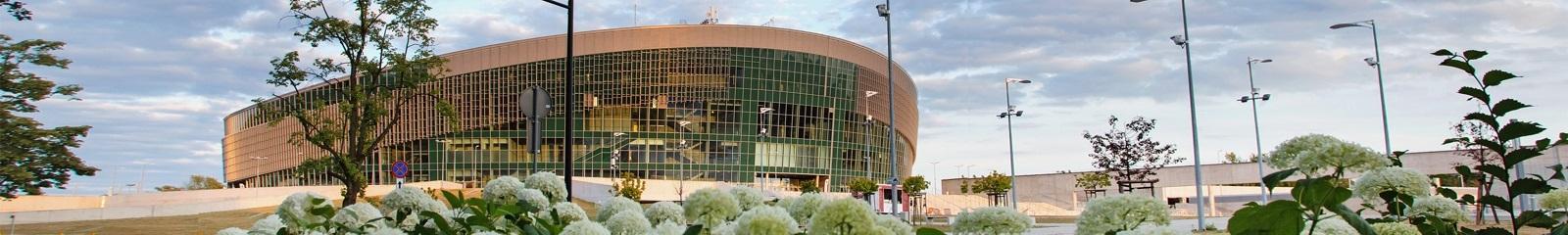 Arena Gliwice w dzień