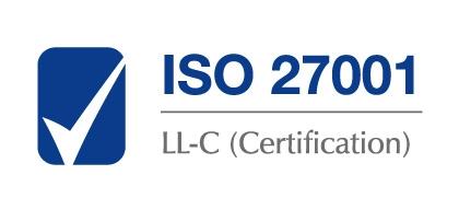 Logo certyfikatu ISO 27001